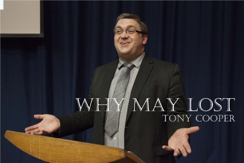 REIGATE COLLEGE LECTURE: WHY MAY LOST, BY TOBY COOPER